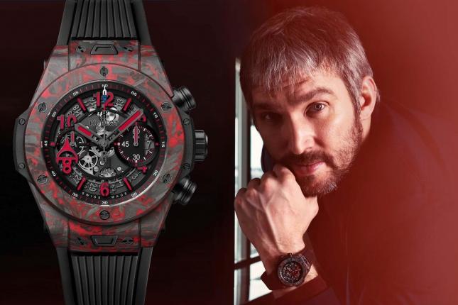 Hublot Big Bang Unico Red Carbon Alex Ovechkin: Đồng hồ vinh danh siêu sao khúc côn cầu Alexander Ovechkin