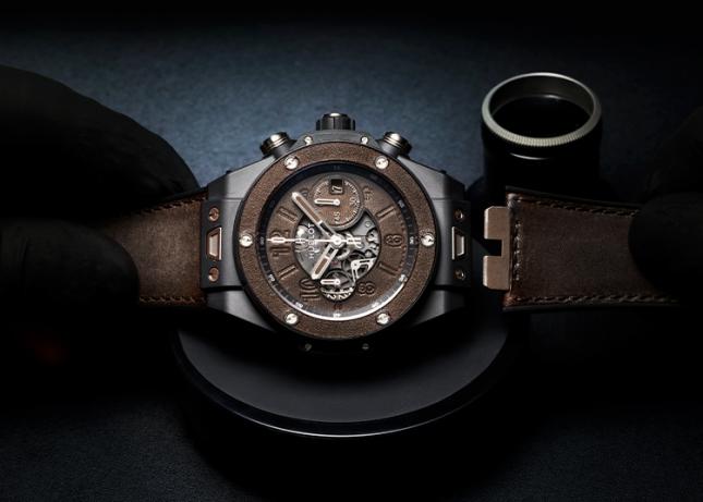 Hublot hợp tác cùng Berluti cho ra mắt đồng hồ mới phiên bản giới hạn 'Big Bang Unico Berluti Cold Brown'