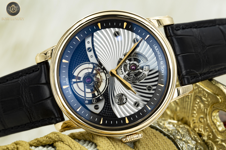 Review đồng hồ Arnold & Son Royal TE8 Tourbillon: Một thiết kế ấn tượng với bộ chuyển động tourbillon