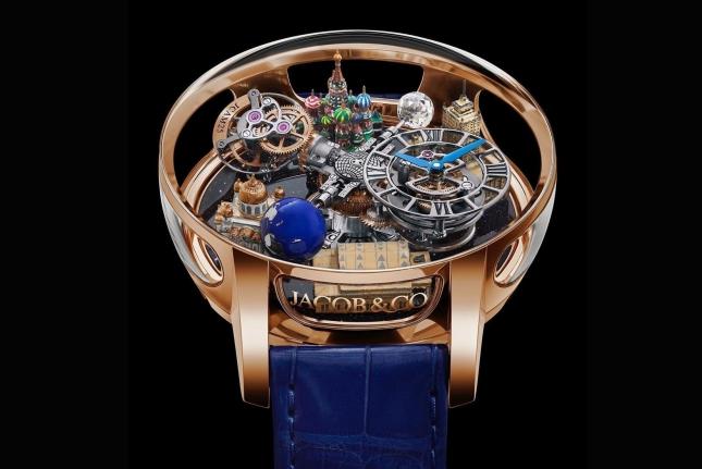 Jacob & Co. Astronomia Tourbillon Moscow: Đồng hồ tôn vinh Ngày Chiến thắng của Nga