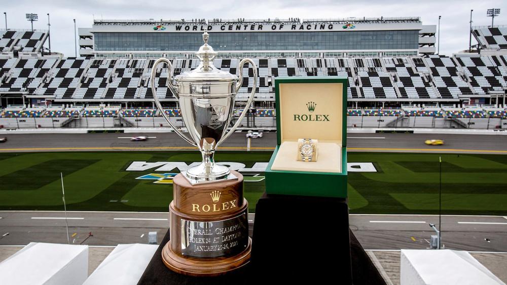 Giải đua xe thể thao Rolex 24 At Daytona 2021 và món quà bất ngờ từ Rolex dành cho người chiến thắng
