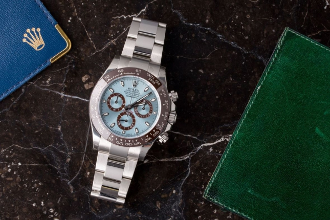 Top 5 mẫu đồng hồ Rolex Daytona khiến các đấng mày râu phải khao khát sở hữu