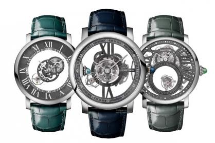 Rotonde De Cartier Precious 'Icons Set': Bộ ba đồng hồ biểu tượng quý giá của Cartier