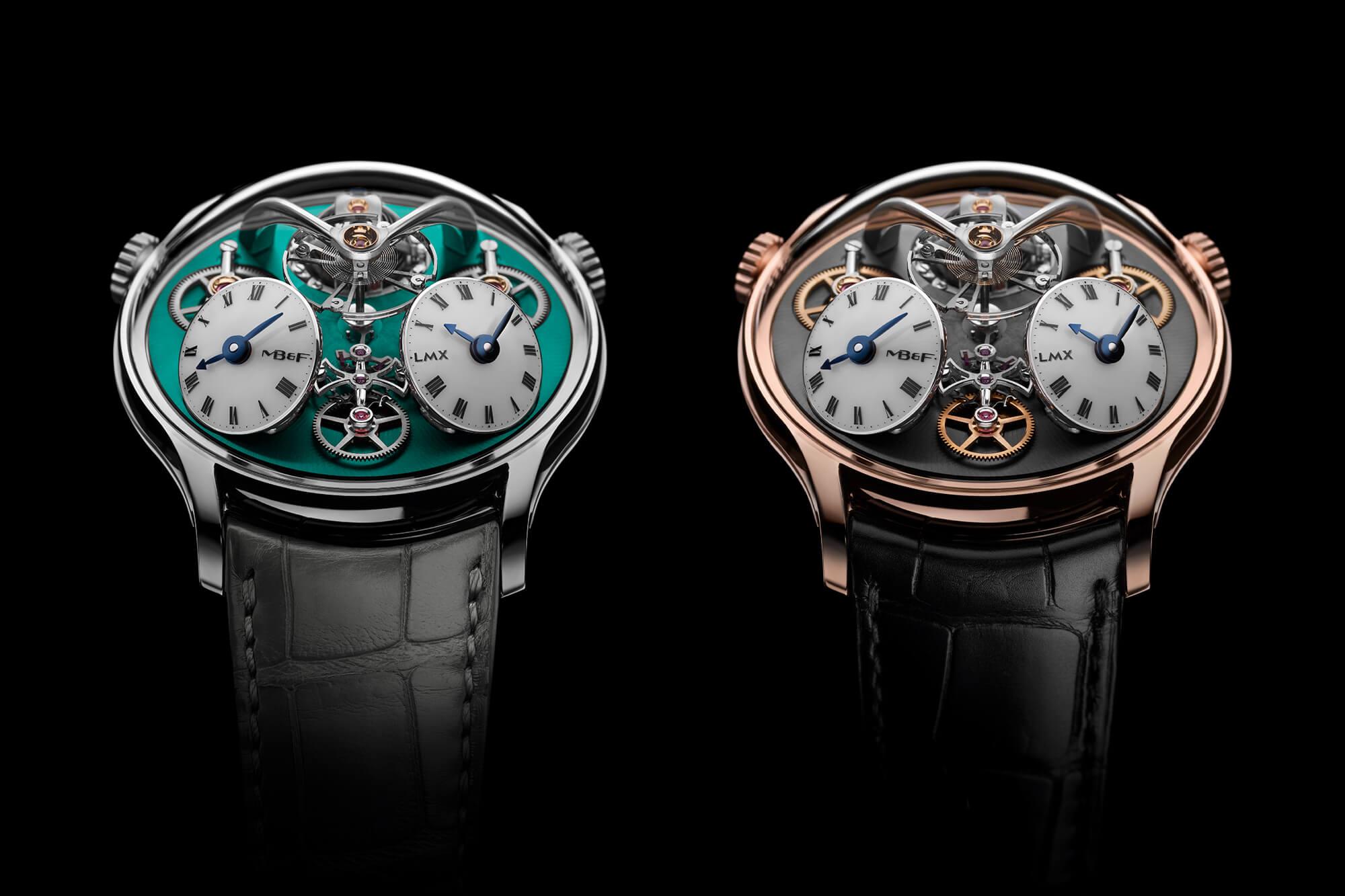 MB&F ra mắt đồng hồ mới LMX phiên bản kỷ niệm 10 năm của Legacy Machine