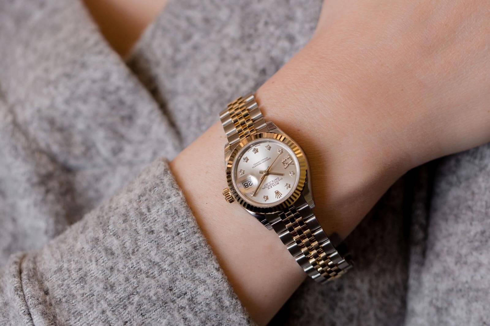 5 ý tưởng đồng hồ Rolex dành cho phái đẹp tại Boss Luxury