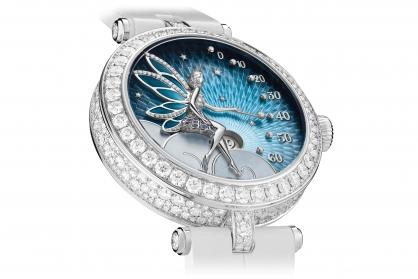 Van Cleef & Arpels biến thời gian trở nên kỳ diệu trên chiếc đồng hồ Lady Féerie