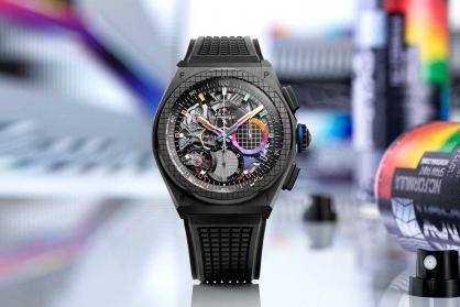 Zenith thôi miên thị giác người nhìn với cách chơi màu đầy táo bạo trong chiếc đồng hồ mới Zenith DEFY 21 Felipe Pantone