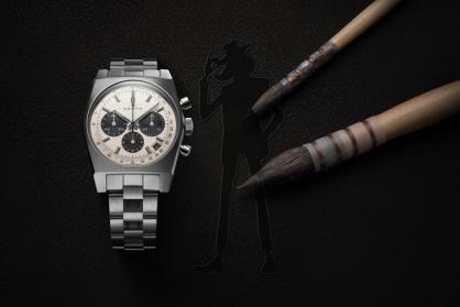 Zenith vừa cho ra mắt chiếc đồng hồ Zenith Chronomaster Revival Lupin The Third – 2nd Edition phiên bản đặc biệt