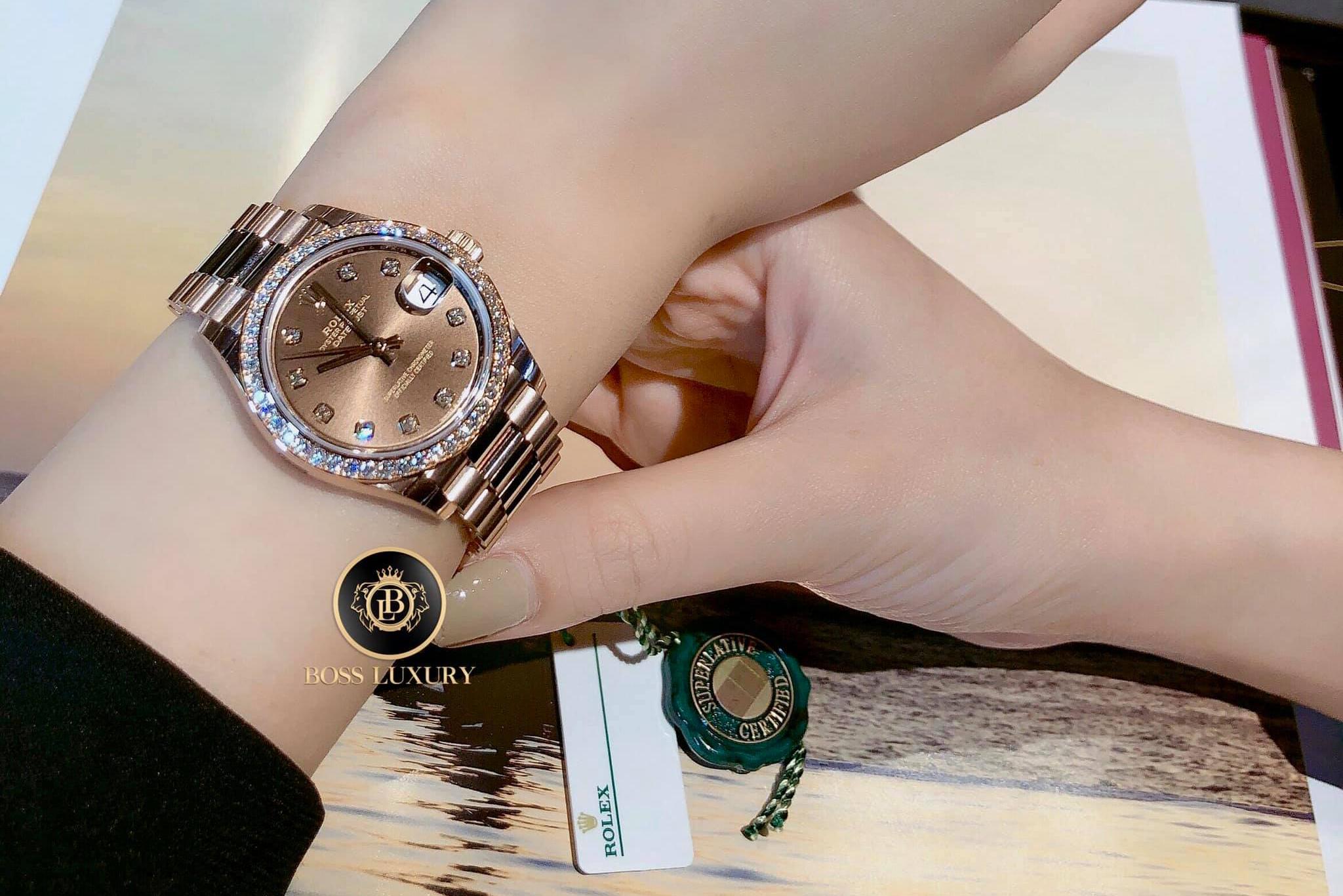 5 mẫu đồng hồ Rolex nổi bật nhất dành cho phái đẹp