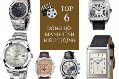 Top 6 mẫu đồng hồ mang tính biểu tượng nhất mọi thời đại