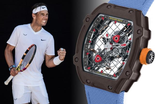 Richard Mille vừa tung ra một mẫu đồng hồ mới đánh dấu kỷ niệm 10 năm hợp tác với ngôi sao quần vợt Rafael Nadal