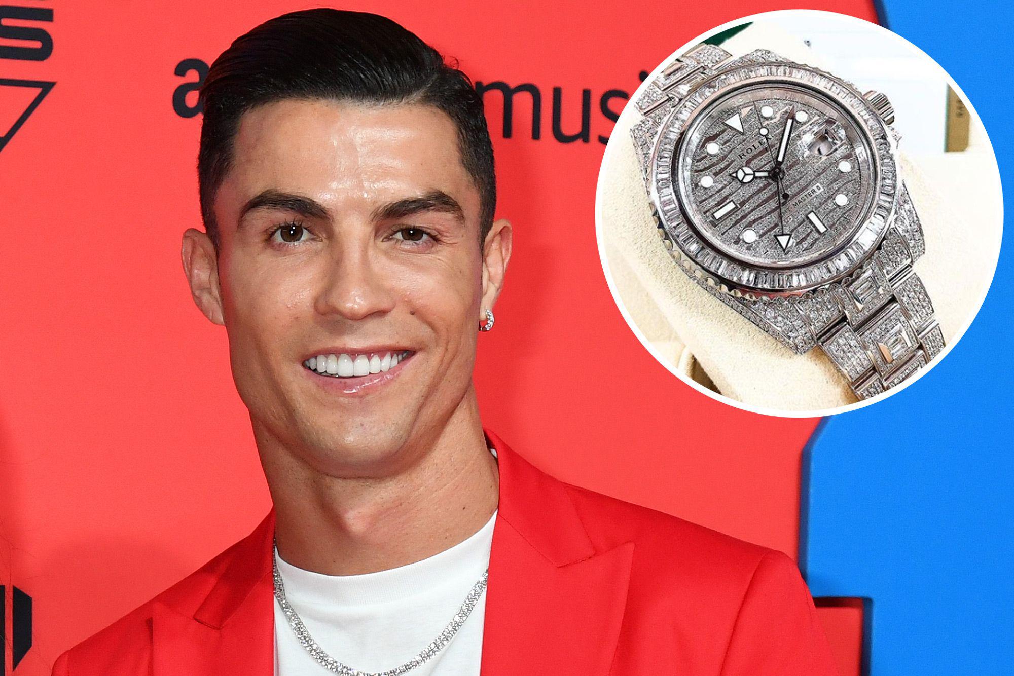 Khám phá bộ sưu tập đồng hồ triệu đô của Cristiano Ronaldo