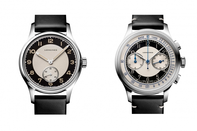Longines tung ra hai mẫu đồng hồ mới tái hiện lịch sử trong bộ sưu tập Longines Heritage