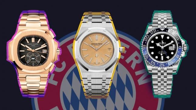 Đồng hồ của các ngôi sao FC Bayern München
