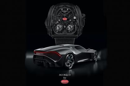Jacob & Co. Twin Turbo Furious Bugatti La Montre Noire: Sự tôn vinh dành cho một chiếc xe thần thoại đã mất tích kể từ Thế chiến 2