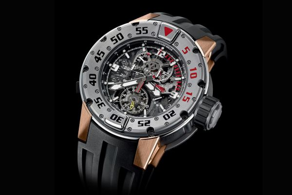 Richard Mille RM 025 Tourbillon Chronograph