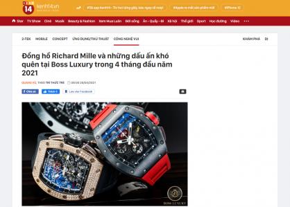 Đồng hồ Richard Mille và những dấu ấn khó quên tại Boss Luxury trong 4 tháng đầu năm 2021