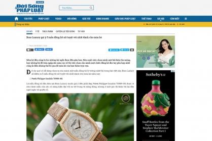 Boss Luxury gợi ý 5 mẫu đồng hồ nữ tuyệt vời nhất dành cho mùa hè