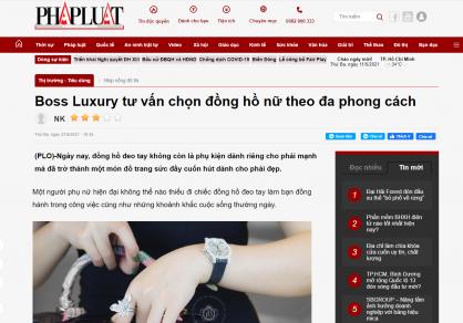 Boss Luxury tư vấn cách chọn đồng hồ nữ theo đa phong cách