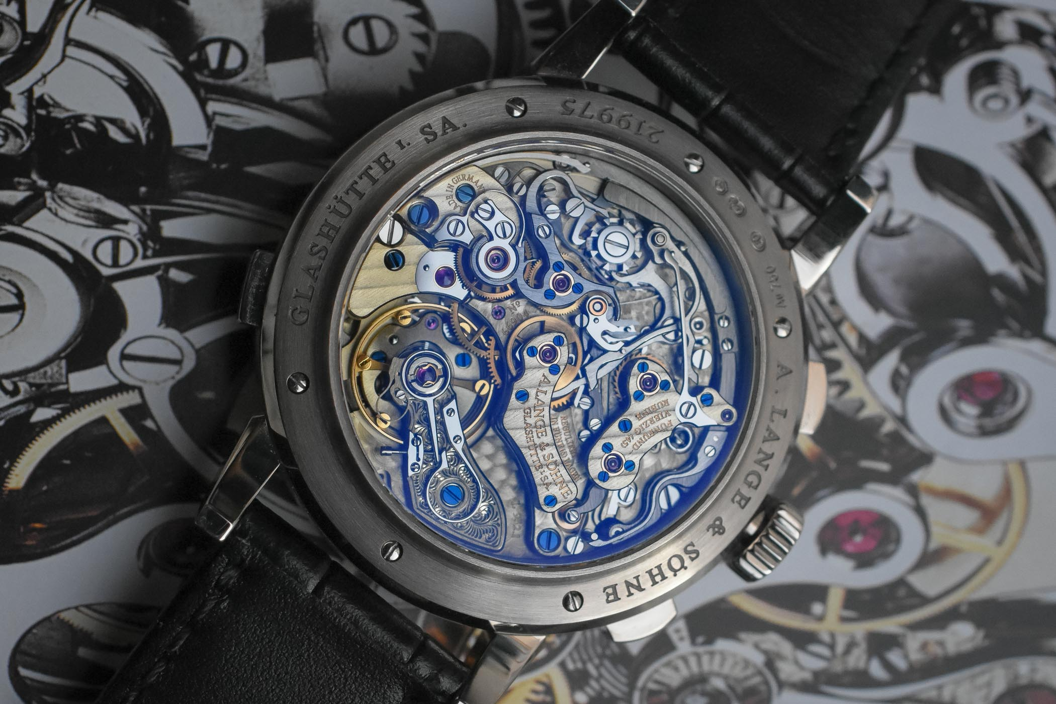 Đồng hồ A Lange & Sohne Datograph Perpetual