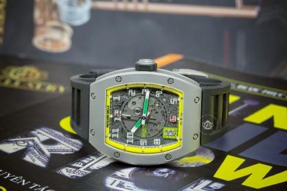 Review đồng hồ Richard Mille RM RM005 AG TI Felipe Massa