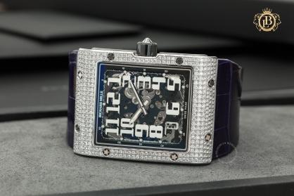 Đồng hồ Richard Mille RM016-AH WG: Hình chữ nhật thanh lịch