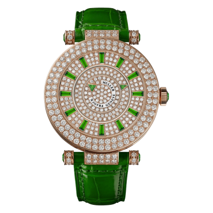 Franck Muller Round Classic Double Mystery Elegance