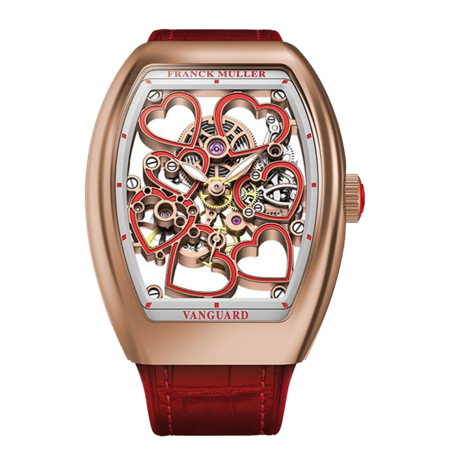 Franck Muller The Vanguard Heart Skeleton