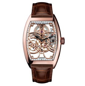 Franck Muller Cintrée Curvex 7 Days Power Reserve Skeleton