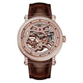 Franck Muller Round Collection 7 Days Power Reserve Skeleton