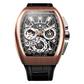 Franck Muller Vanguard Grand Date Rose Gold