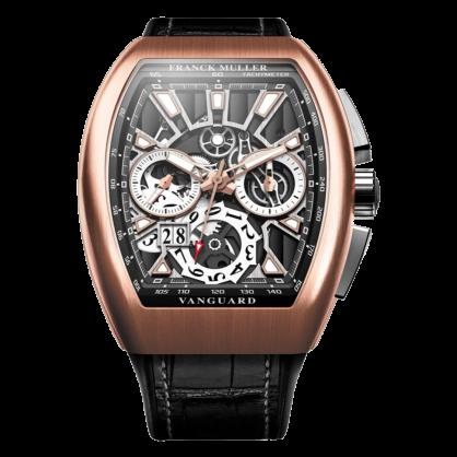 Franck Muller Vanguard Grand Date Rose Gold
