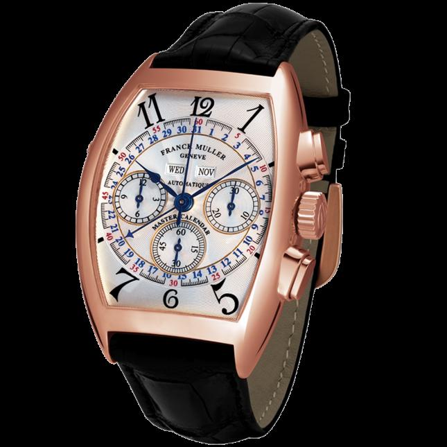 Franck Muller cintree curvex master calendar chronograph 8880 cc mc at