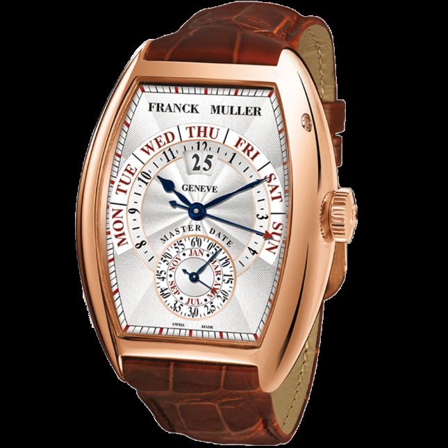 Franck Muller cintree curvex master date 8880 s6 gg dt rose gold