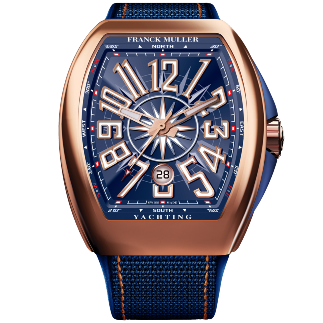 Franck Muller Vanguard Yachting V45 Rose Gold