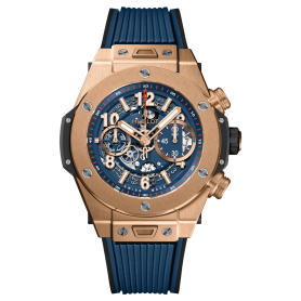 Hublot Big Bang Unico King Gold Blue 45mm
