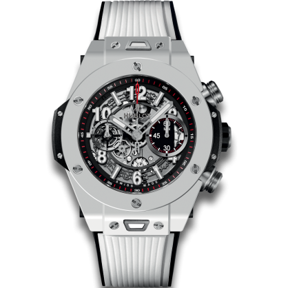 Big Bang Unico White Ceramic 45mm