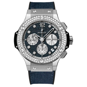 Hublot Big Bang Glossy Jeans Diamonds 41mm