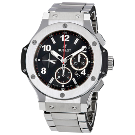 Hublot Big Bang Stainless Steel Wristwatch 44mm