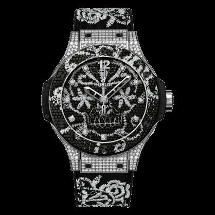 Hublot Big Bang Broderie Steel Diamonds Limited 200pcs