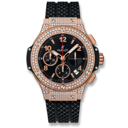 Hublot Big Bang Chronograph King Gold Pave Diamond 41mm