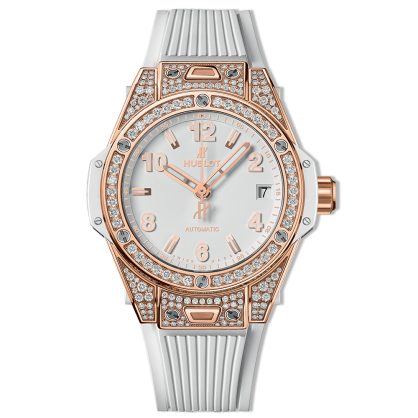 Hublot Big Bang One Click King Goold Pave Diamonds 39mm