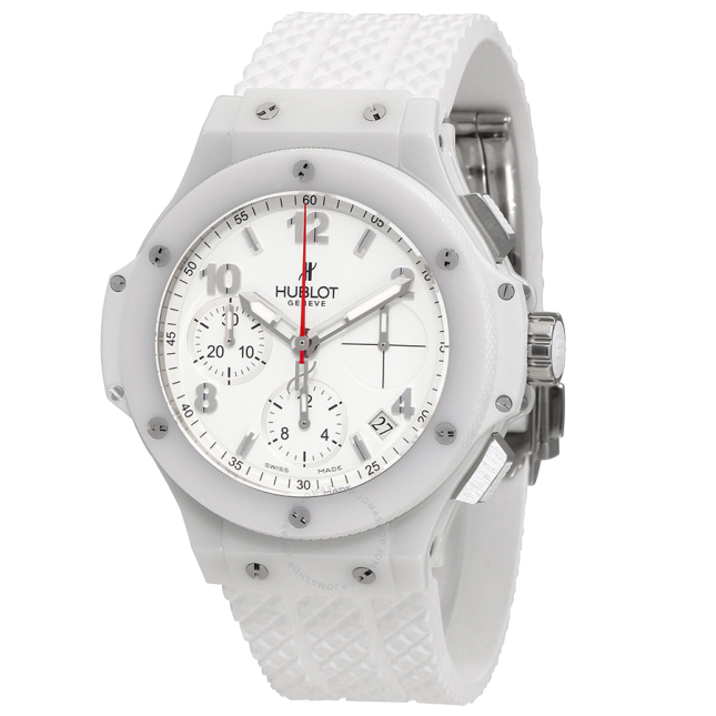 Hublot Big Bang Aspen White Dial Rubber Automatic