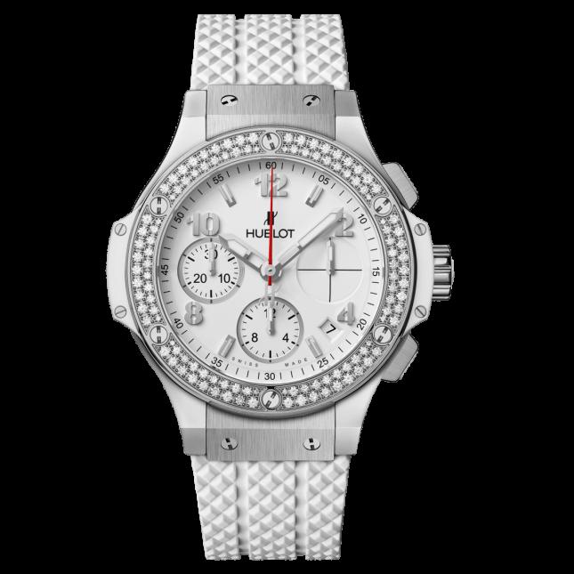 Hublot Big Bang Steel White Diamonds 41mm