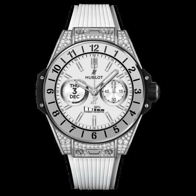 Hublot Big Bang E Titanium White Diamonds 42mm