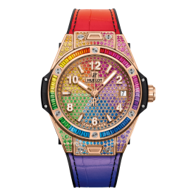 Hublot Big Bang One Click Rainbow King Gold 39mm