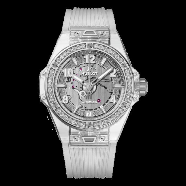 Hublot Big Bang One Click Sapphire Diamonds 39mm