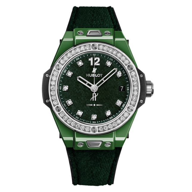 Big Bang Oneclick Italia Independent Green 39mm