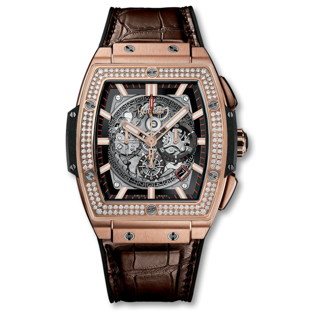 Hublot Spirit Of Big Bang King Gold Diamonds 45mm