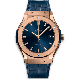 Hublot Classic Fusion Blue King Gold 42mm